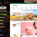 Cake Bakery Shop OpenCart 3 Theme – CakeShop