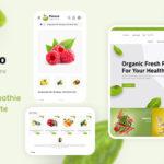 Organic Food OpenCart Store – Flavoro