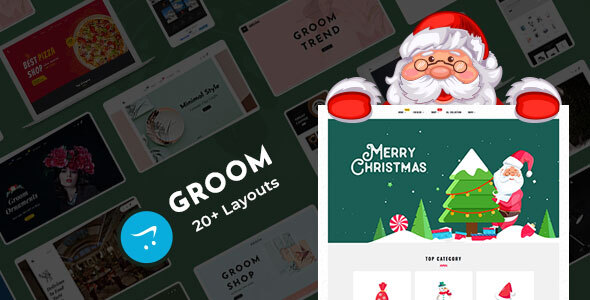 Groom - OpenCart Multi-Purpose Responsive Theme