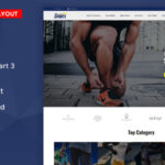 OpenCart 3.x Multipurpose Responsive Theme – Sports Kit