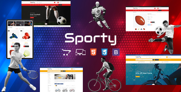 Sporty - Responsive OpenCart Theme
