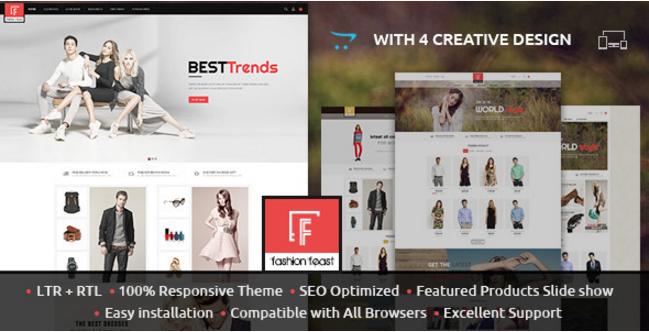 Fashion Feast - Opencart Responsive Theme