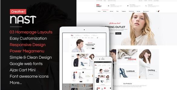 NastCreative - Multipurpose Responsive OpenCart Theme