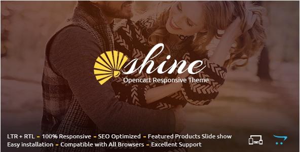 Shine - Opencart Responsive Theme