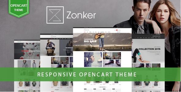 Zonker - Responsive OpenCart Fashion Theme