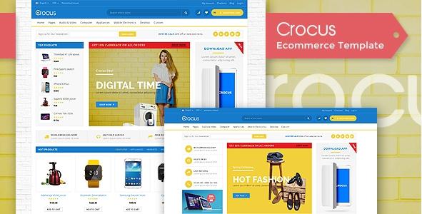 Crocus - Multipurpose Responsive OpenCart Theme