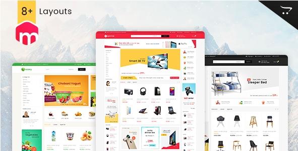 Mega Shop - Opencart Multi Purpose Responsive Theme