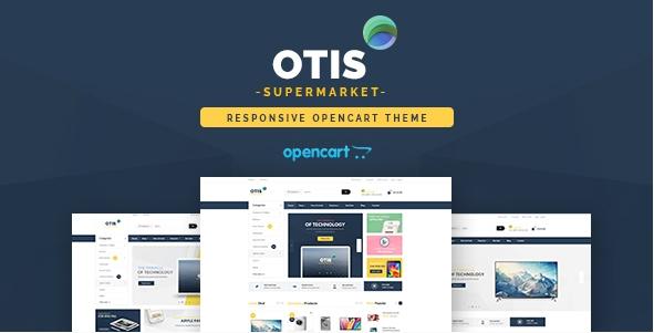 Pav Otis - Advanced Digital & Technologies Opencart theme