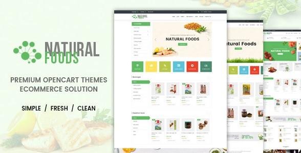 Natural Food - Multipurpose OpenCart Theme